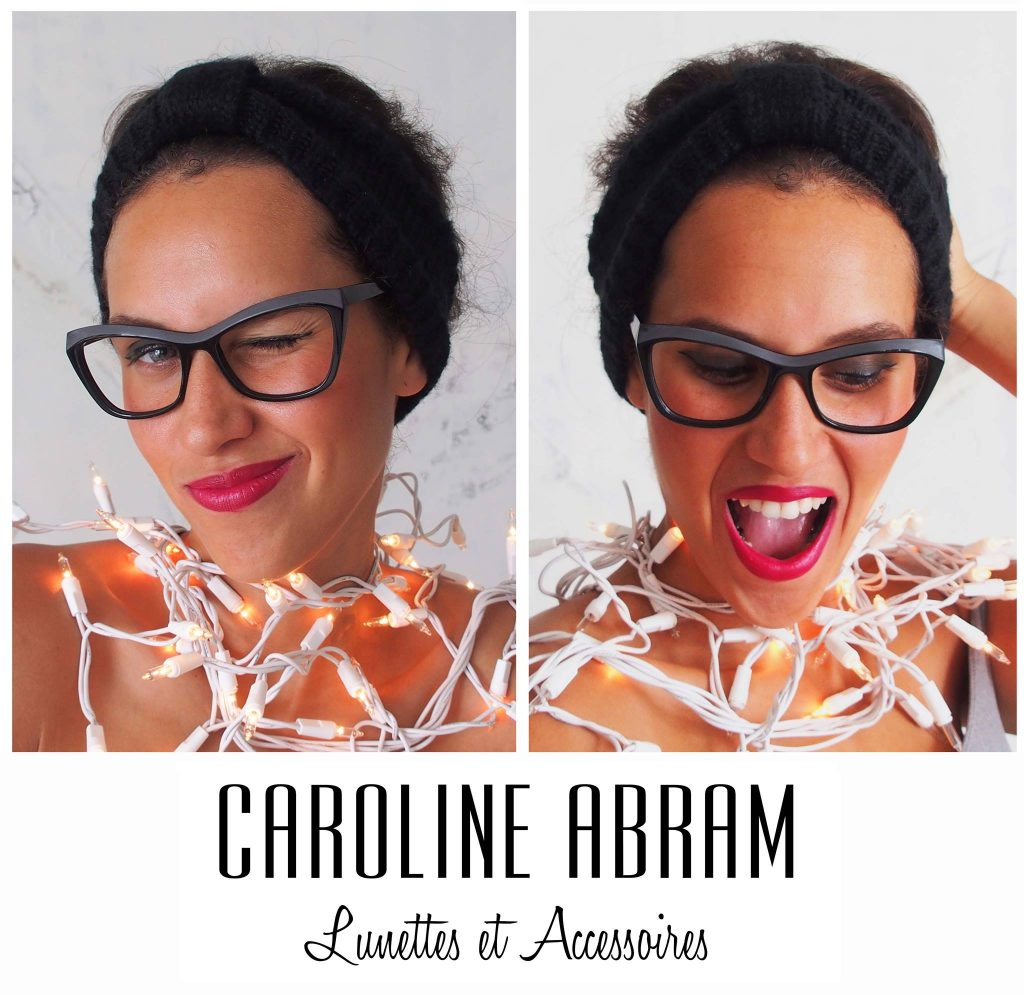 Visuel Caroline Abram Lunettes et Accessoires