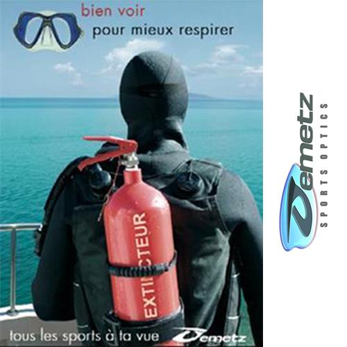 Visuel de la Marque de lunettes de sport Demetz - Magasin Optique Nouveau Regard Muret